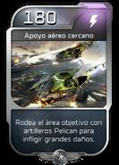 Blitz - UNSC - Capitán Cutter - Poder - Apoyo aéreo cercano