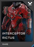 Interceptor Rictus Armor Req