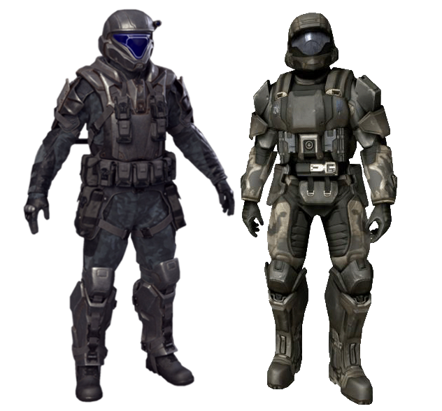 Odst Battle Armor Halo Nation Fandom Powered By Wikia