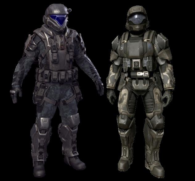 Odst Battle Armor Halo Alpha Fandom