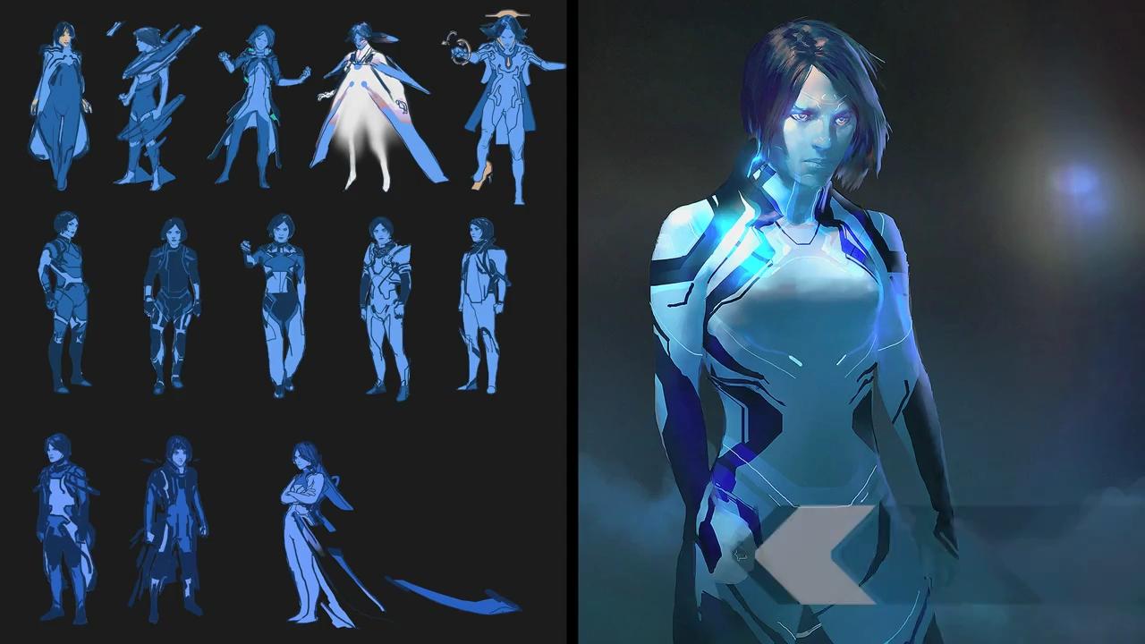 HALO - Cortana by Hawk   * Games: Art   Pinterest