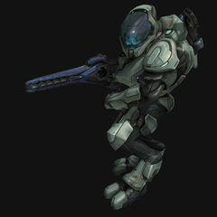 Un Elite Ranger in Halo: Reach