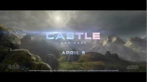 Halo 4 - Paquete De Mapas Castle Trailer