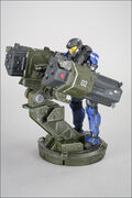 CP Reach JFO figure with Rocket Launcher