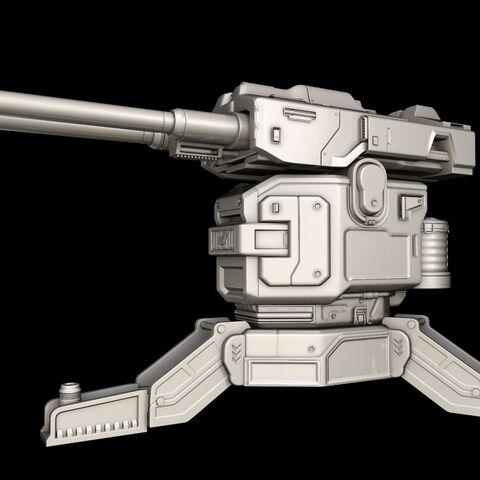 Renderbilder des Modells der M85