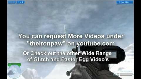 Halo 2 Face in Halo - Easter Egg - WALKTHROUGH