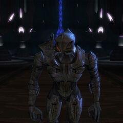 Arbiter di ritorno dalla prima missione ufficiale.