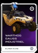 H5G REQ Card Warthog Gauss industriel