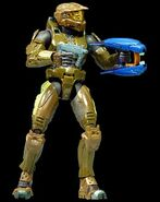 Halo2 spartan brown