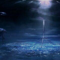 博爱之城内部星盟圣城的一张概览图。