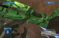 Giant Master Chief Glitch