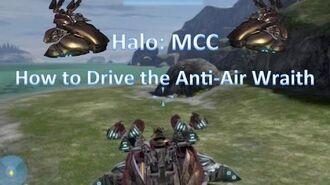 Halo MCC How to Drive an Anti-Air Wraith