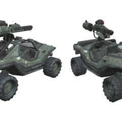 Warthog con Gauss in Halo: Reach