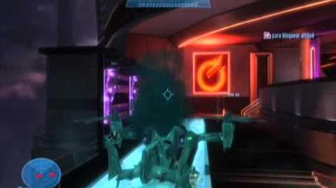 Falcon con humo de colores Easter Egg o Glitch halo reach