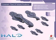 Halo Fleet Battles Valiant Prudence