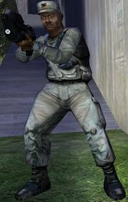 Sgt. Johnson HCE
