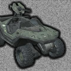 Eine Version des M12 Warthog, welches während der Schlacht um Reach verwendet wurde.