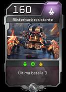 Blitz - Desterrados - Atriox - Unidad - Blisterback resistente