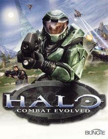 Halo - Combat Evolved (XBox version - box art)
