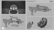 Rifle De Batalla BR85 concepto H5G
