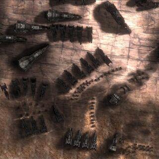 Der Schiffsfriedhof in den <a href=