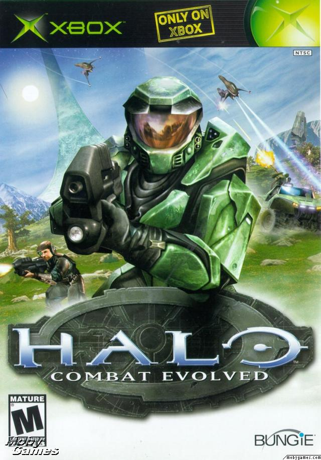 Image result for Halo: Combat Evolved (2001) box