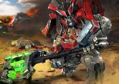 Ilustración Warlord HW2