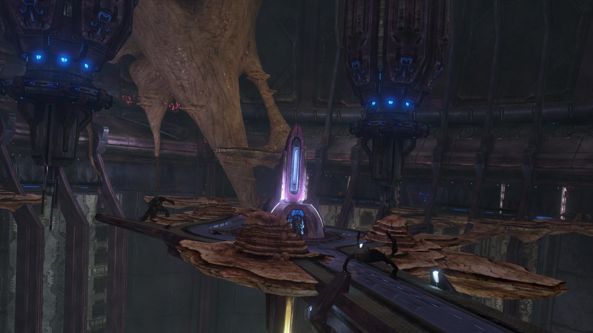 Halo 3 cortana level