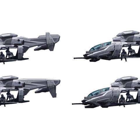Einige Konzepte des UH-144 Falcon