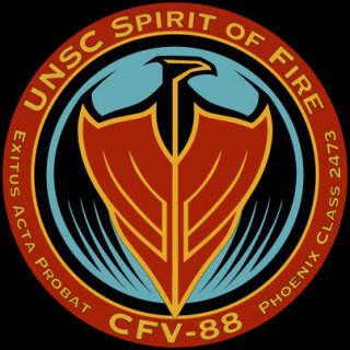 Das Wappen der Spirit of Fire.