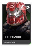 H5G REQ card Commando-Casque