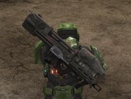 Spartan Laser Secondary Weapon