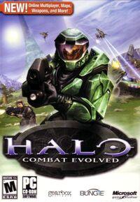 Halo Combat Evolved box art (PC)