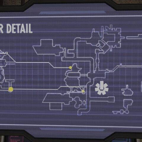Lageplan der Basis