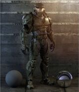 Halo Character Spartan Render