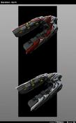 Spirit Desterrados modelo HW2
