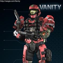 Una delle tante combinazioni di armature per gli Spartan