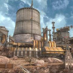 Eine große Titanium-Mine