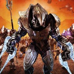 L'Arbiter Ripa 'Moramee in Halo Wars