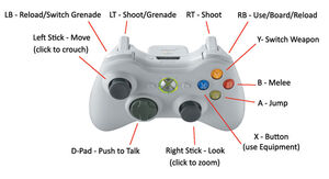 Halo 3 Beta Controls