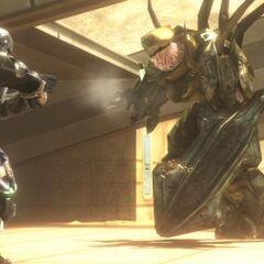 Un Cacciatore dorato in Halo 3: ODST