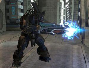 Brute Comandante da guerra con cannone al plasma