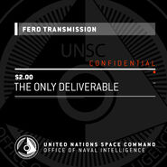 FERO transmisión The Only Deliverable
