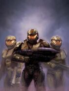 Spartan's of halo wars