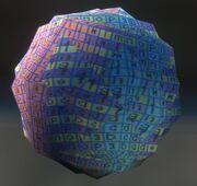 Bola de textura defectuosa H3