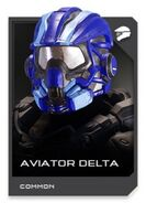 H5G REQ card Casque-Aviator Delta