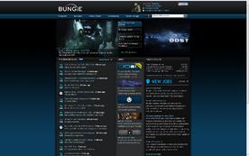 Bungie net homepage