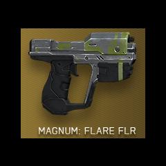 Die Magnum mit der Flare (FLR) Skin