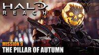 Halo Reach MCC PC Walkthrough - Mission 9 THE PILLAR OF AUTUMN (Sub ITA)