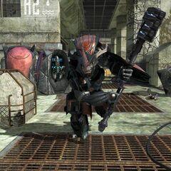 Brute Comandante Regolare in Halo 3